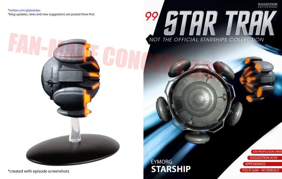 Eymorg Starship – Appearance: TOS-R 3×06 | Glykokalyx's Star